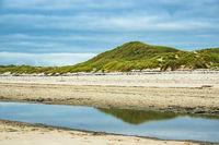 Landschaft am Strand auf der Insel Amrum