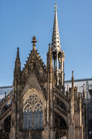 Facade of the Cologne Cathedral