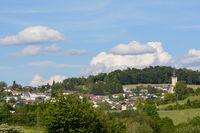 small idyllic town Rohrbach in Upper Austria - Austria