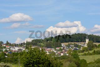 kleine idyllische Stadtgemeinde Rohrbach in Oberoesterreich - Austria