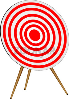 Classic round target