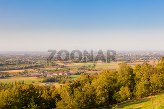 Reggio Emilia view from the hills