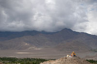 Monastery near Leh, Ladakh, Jammu and Kashmir, India