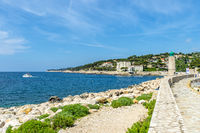 The pier and bay of Cassis