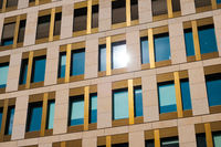 modern building facade - office real estate exterior -