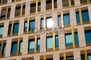 modern building facade - office real estate exterior -