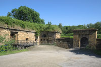 Minden - Walls of the old fortification, Germany
