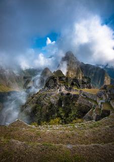 Machu Picchu, UNESCO World Heritage Site.