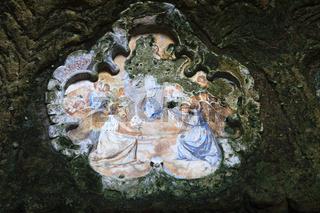 Fresken, Höhlenkirche, Chiesa die Piedigrotta