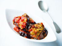 middle eastern stewed eggplant