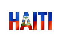 haitian flag text font