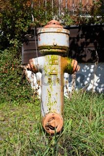 Hydrant im Allgaeu. Deutschland