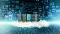 Internet Cloud Serve concept