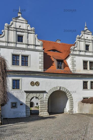 Schloss Strehla, Sachsen   Strehla Castle, Saxony