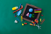 Cheerful Back to School concept
