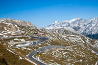 Views along the Grossglockner High Alpine Road in Austria