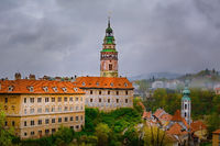 View of the Сesky Krumlov Castle