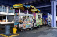 Street Vendor Cart in New York City