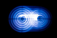Sound waves in the dark in the dark