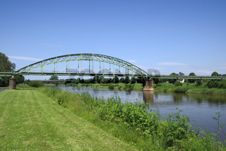 Minden - Weserbrücke, Deutschland