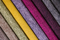Abstract diagonal textile background multicolored stripes from factory upholstery textiles for furniture