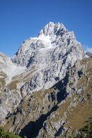 Südgipfel des Watzmanns in den Alpen