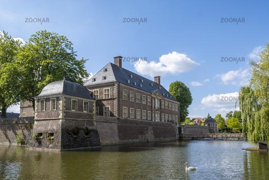 Baroque castle Ahaus-Gartenfront