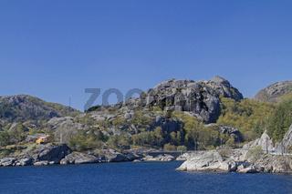 Felsküste im Rogaland