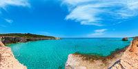 Sea beach Spiaggia della Punticeddha, Salento, Italy