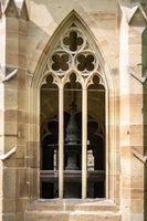 window of the monastery Maulbronn south Germany