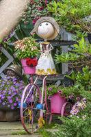 Garden Decoration, Old Town, Stavanger, Norway