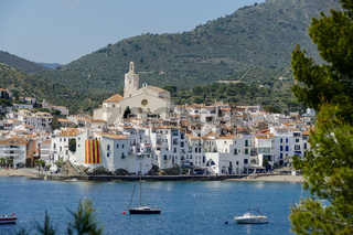 Medieval Village Cadaques on Costa Brava Catalonia Spain europe
