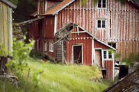old abandoned houses