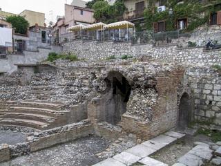 Roman Odeon in Taormina