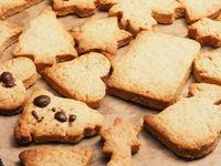 Tasty organic homemade Christmas cookies