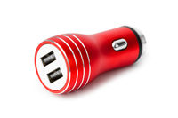 Dual usb socket car charger