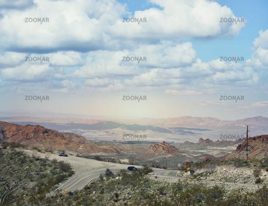 Beautiful view near the historic Route 66 in Arizona