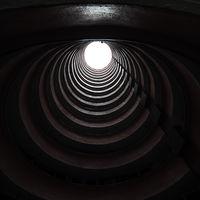 Circular building in Hong Kong
