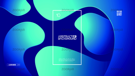 Modern website design on light backdrop. Business vector template. Abstract web banner. Color abstract background. Graphic design geometric shape. Blue gradient. Hipster modern geometric abstract.