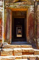 Ancient doorways in The Angkor