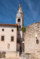 Bell Tower in the old town of Zadar in Croatia