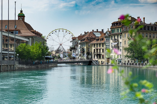 View of the city Thun
