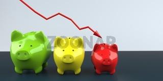 Inflation Piggy Banks