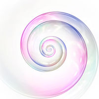 soap bubble colors spiral background illustration