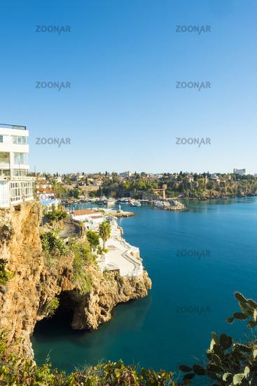 Water Cave Entrance Antalya Harbor V