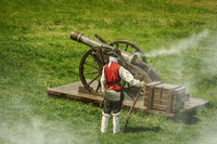 The Cannon is Ready to Shoot