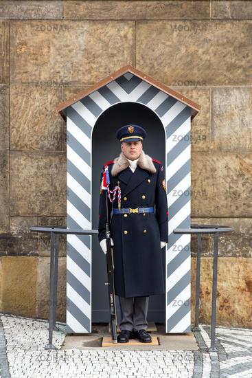 Royal Guard at Prague Castle