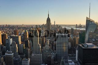 Aussicht auf das Empire State Building in New York