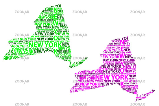 Photo New York Map Vector Image 12500033