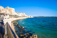 Ortigia view during a summer day
